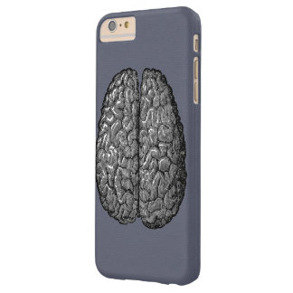Vintage Illustration of Human Brain Barely There iPhone 6 Plus Case