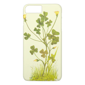 Vintage Illustration of the Yellow Wood-Sorrel iPhone 7 Plus Case