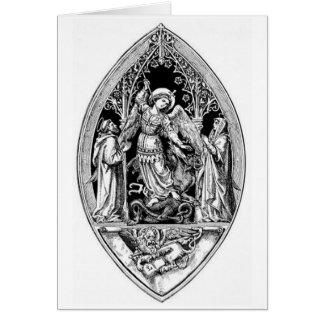 Vintage Image - Archangel Michael Card