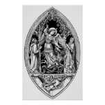 Vintage Image - Archangel Michael Print