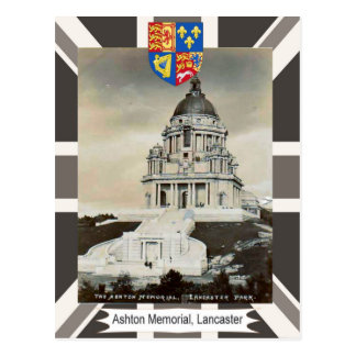 Vintage image, Ashton Memorial, Lancaster  Park Postcard