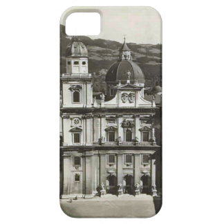 Vintage image Austria,  Salzburg, Domkirche iPhone 5 Covers