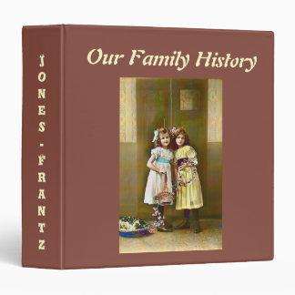 "Vintage Image Family History 1.5"" Binder"