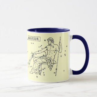 Vintage Image - Zodiac - Aquarius Mug