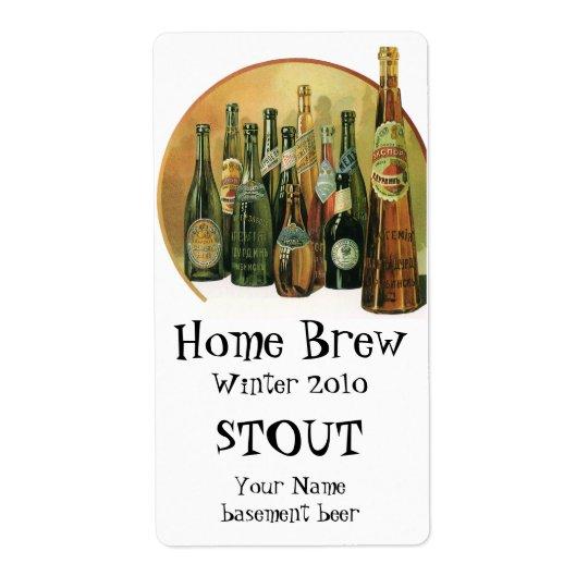Vintage Imported Beer Bottles, Alcohol, Beverages