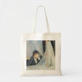 Vintage Impressionism, Cradle by Berthe Morisot Tote Bag