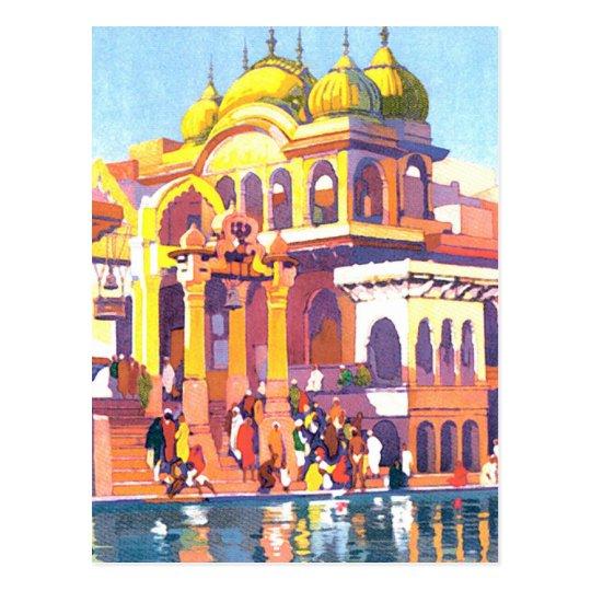 Vintage India Postcard