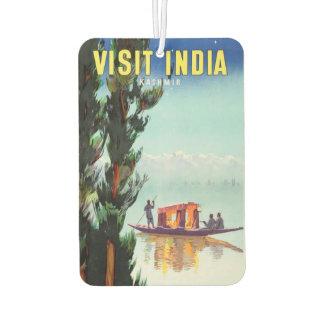 Vintage India Travel Poster air freshner Air Freshener