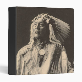 Vintage indian : High Bear, Sioux - Vinyl Binder