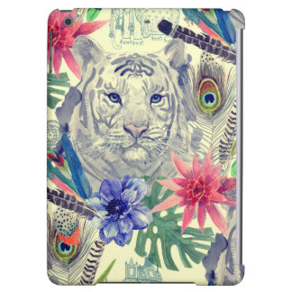 Vintage Indian Style Tiger Pattern Case For iPad Air