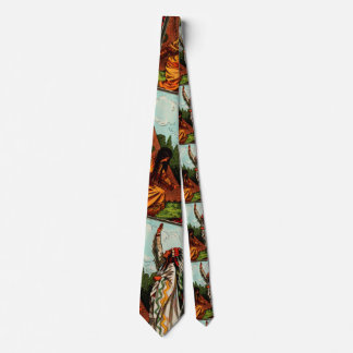 Vintage Indian Tie