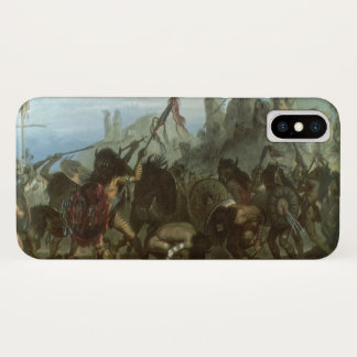Vintage Indians, Bison Dance by Karl Bodmer iPhone X Case
