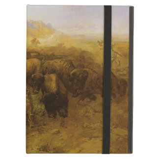 Vintage Indians, Buffalo Hunt by CM Russell Case For iPad Air