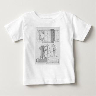 Vintage Industrial Mechanic's Graphic Baby T-Shirt