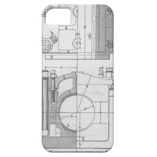 Vintage Industrial Mechanic's Graphic iPhone 5 Cases