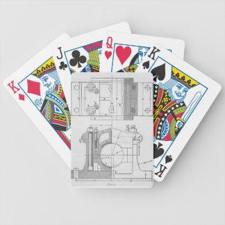 Vintage Industrial Mechanic's Graphic Poker Deck