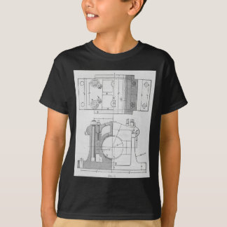 Vintage Industrial Mechanic's Graphic T-Shirt