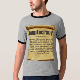 Vintage Ineptocracy Definition T-Shirt