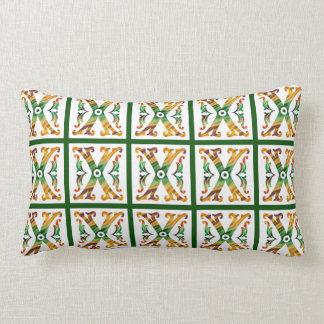 Vintage Initial X - Monogram X Throw Pillows