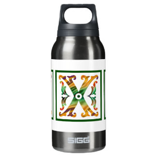 Vintage Initial X - Monogram X SIGG Thermo 0.3L Insulated Bottle