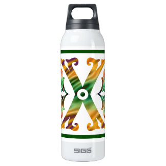 Vintage Initial X - Monogram X SIGG Thermo 0.5L Insulated Bottle