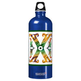 Vintage Initial X - Monogram X SIGG Traveler 1.0L Water Bottle