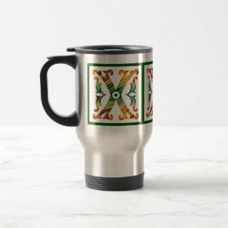 Vintage Initial X - Monogram X Stainless Steel Travel Mug