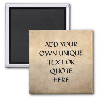 Vintage Ink and Paper Custom 'Add your own text' Magnet
