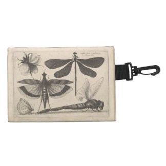 Vintage Insect Bee Dragonfly Grasshopper Butterfly Accessory Bags