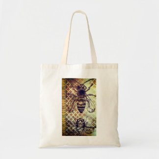 Vintage Insect Tote Bag