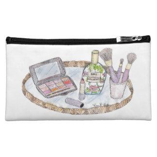 Vintage Inspired Antique Makeup Bag