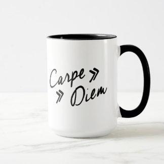 Vintage Inspired Carpe Diem Mug