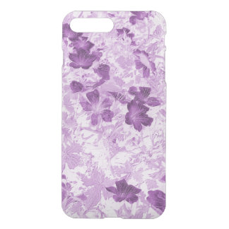 Vintage Inspired Floral Mauve iPhone 7 Plus Case