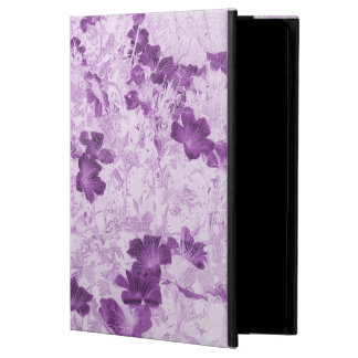 Vintage Inspired Floral Mauve Powis iPad Air 2 Case