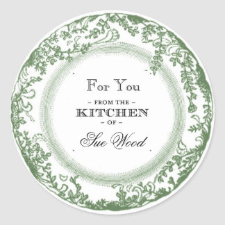 Vintage-Inspired Kitchen Gifts Labels