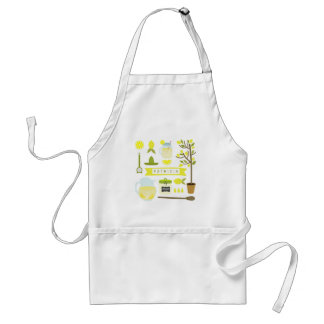 Vintage Inspired Lemonade Apron