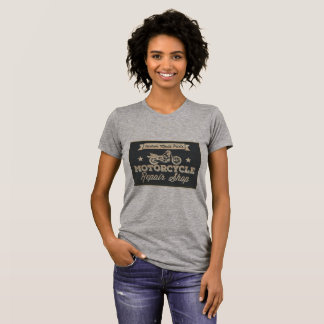 Vintage Inspired Motorcycle Repair Shop Tees
