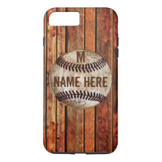 Vintage iPhone 7 PLUS Baseball Case PERSONALIZED