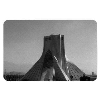 Vintage Iran tehran Azadi Square 1970 Rectangular Photo Magnet