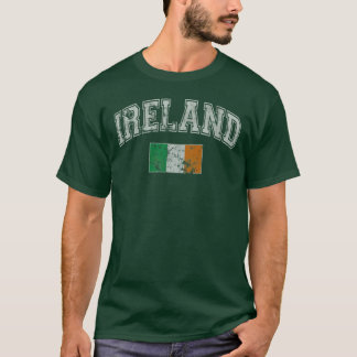 Vintage Ireland Flag T-Shirt