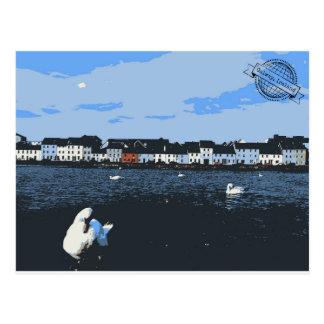 Vintage Ireland Travel Postcard