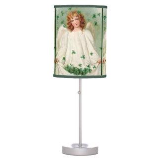 Vintage Irish Angel table lamp