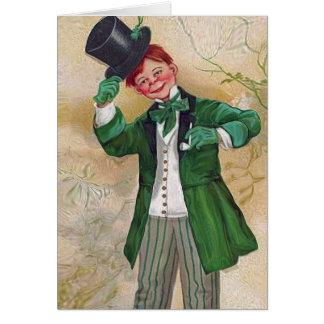 vintage irish gentleman card
