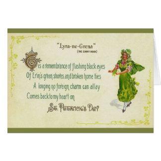Vintage Irish St. Patrick's Day Greeting Card