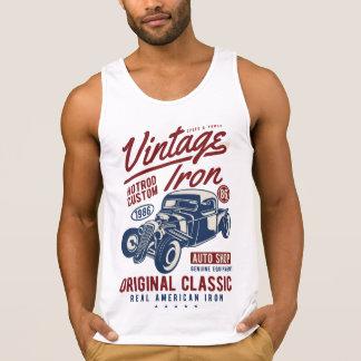 Vintage Iron Men's Cotton Tank Top