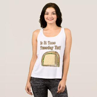 Vintage Is It Taco Tuesday Yet Tank Top