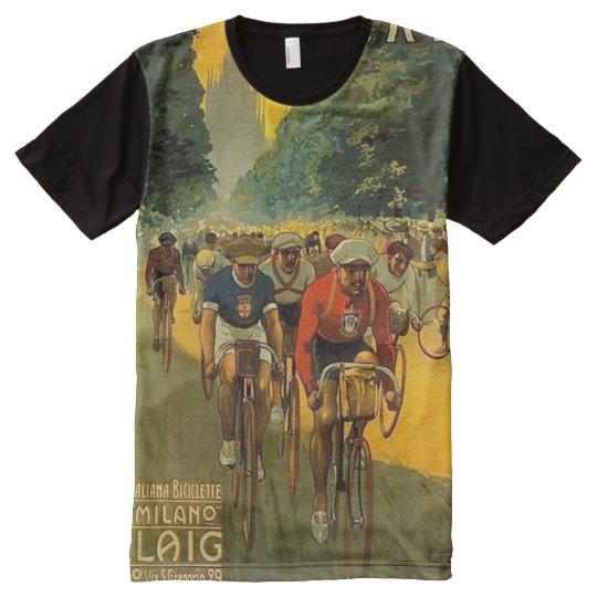 Vintage Italian Bicycle Ad