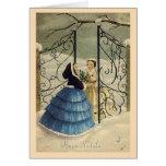 Vintage Italian Buon Natale Christmas Card