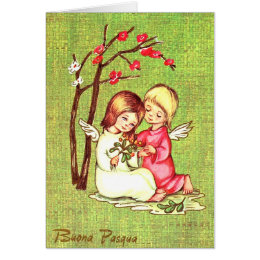 Vintage italian easter gifts on zazzle ca vintage italian easter card 3 negle Choice Image
