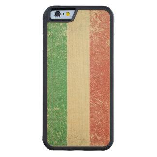Vintage Italian Flag Iphone 6 Wood Bumper Case